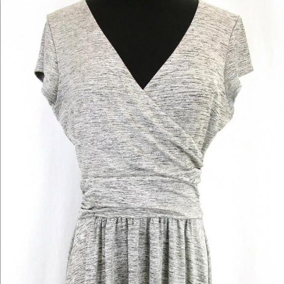 Anthropologie Dresses & Skirts - Anrtho Metallic Flare M Dress Maeve Cap Sleeve